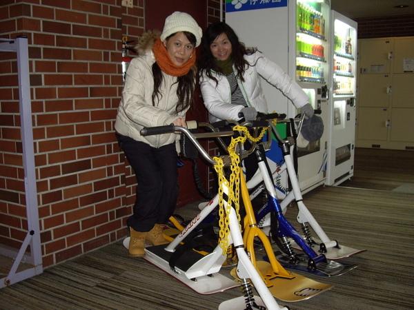 雪上腳踏車