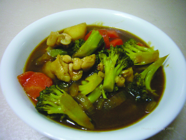 咖哩飯料理