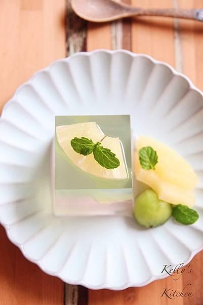 20170703青蘋果蜜桃雙層果凍 - 8