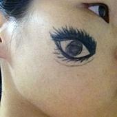 eye on face