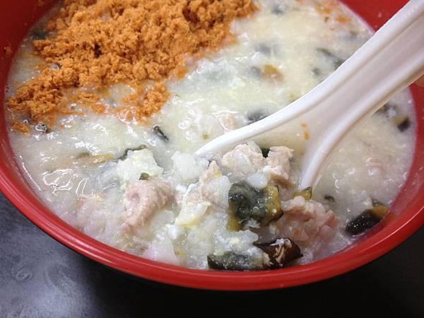 皮蛋瘦肉粥 (2)