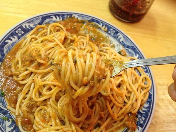 肉醬麵(大) (2)
