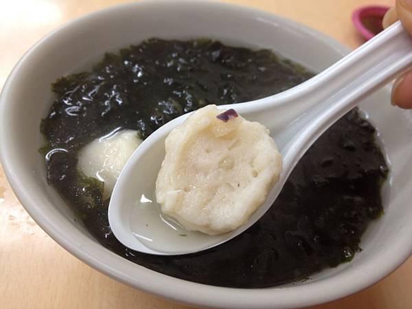 旗魚花枝丸湯 (2)