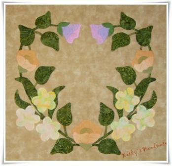 blk 6 heart wreath