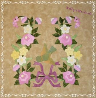 blk 2 lyre wreath