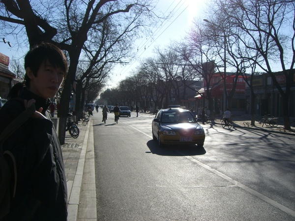 wu zhe in cold cold beijing