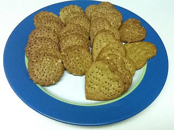 抹茶蜂蜜燕麥餅乾
