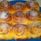 核桃肉桂捲麵包
