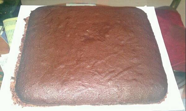 剛出爐的『巧克力布朗尼』!