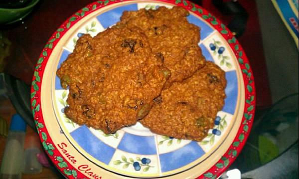 綜合果仁葡萄乾燕麥餅乾