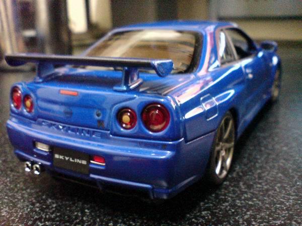 GTR-R34 背面