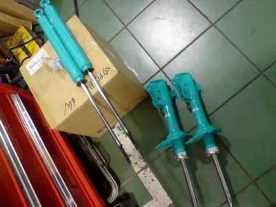 TRD短彈簧+避震全組