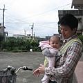 第一次坐單車