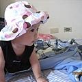 小寶貝超可愛的帽子造型