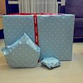 姑姑們送的禮物