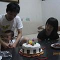 壽星要切蛋糕囉