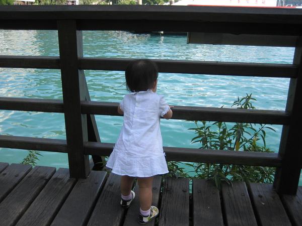 第一次看到這麼多水~