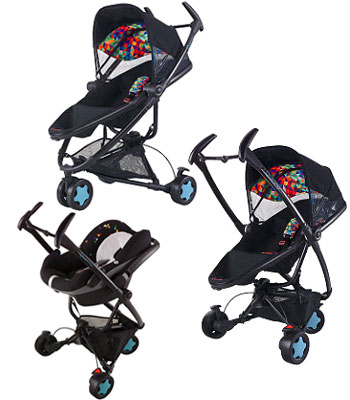 Quinny Zapp Xtra Travel System - Q Design Including Pack 8 - Pebble Carseat.jpeg
