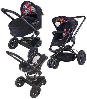 Quinny Buzz 3 Travel System - Q Design Including Pack 7 - Dreami Carrycot & Pebble Carseat.jpeg