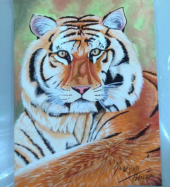 有點發福的老虎