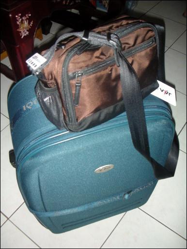 出發前行李