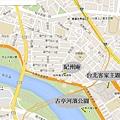 捷運古亭遊樂地圖
