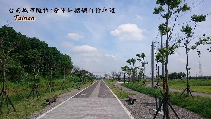 學甲糖鐵自行車道9