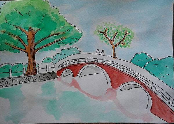 水彩 | 台中公園