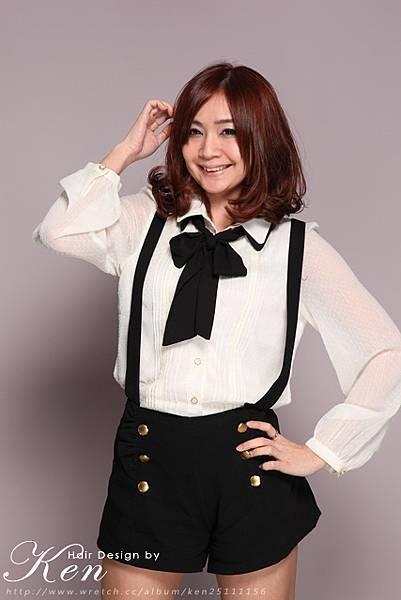 展現甜美的韓系小資女孩風格
