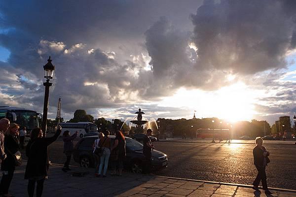 夕陽下的協和廣場