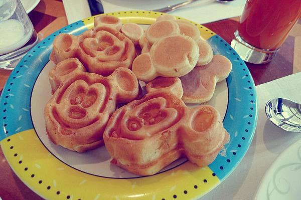 翠樂庭 米奇鬆餅