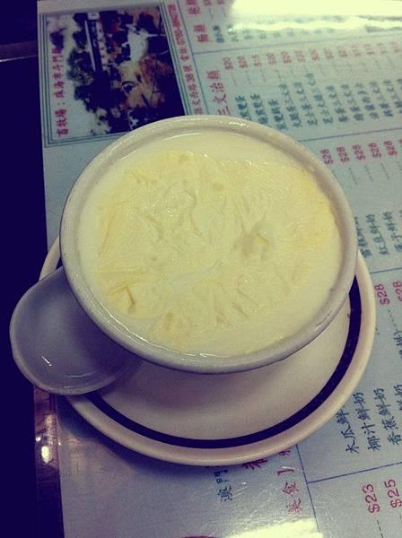 義順牛奶_雙皮燉奶