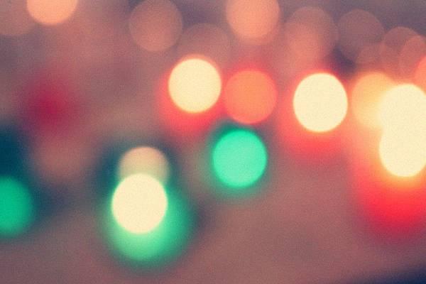 五顏六色的光芒