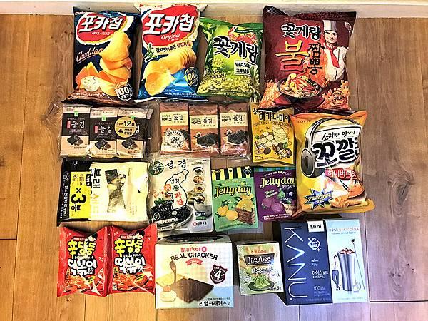 106.06韓國首爾戰利品_必買美妝保養品、零食、流行服飾02.JPG