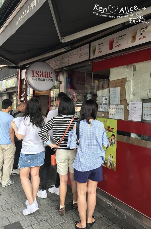 2017.06韓國首爾美食_明洞ISAAC早餐01.jpg