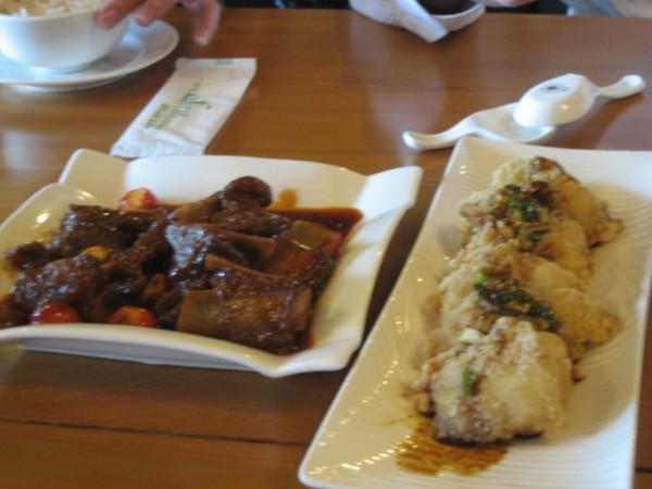 大湖雲莊午餐
