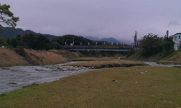 親水公園附近