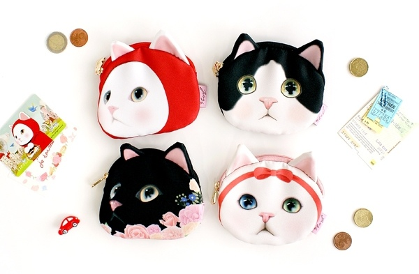 jetoy 甜蜜貓 包包 皮包 零錢包 新年禮物 生日禮物 聖誕禮物 禮物包裝 3C周邊 手機皮夾 手機套 三星S3