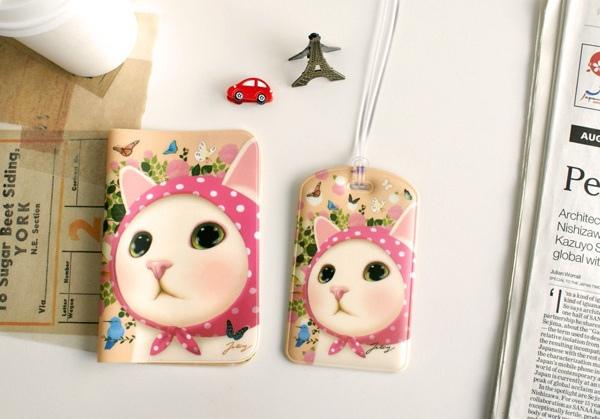 jetoy 甜蜜貓 包包 皮包 零錢包 新年禮物 生日禮物 聖誕禮物 禮物包裝 旅遊周邊 護照套 行李吊牌
