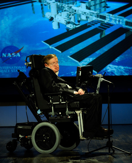 Stephen Hawking In NASA(USA)