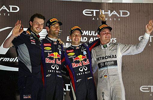 2013 F1 阿布達比站-4