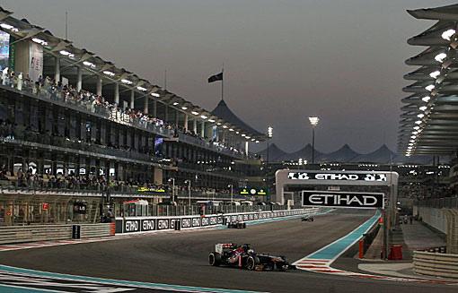 2013 F1 阿布達比站-1