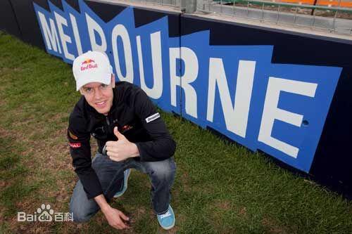 2013 F1 美國站冠軍Sebastian Vettel