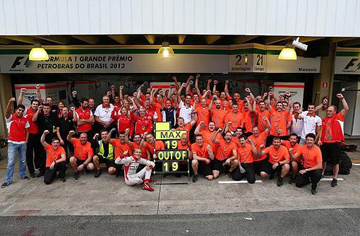 2013 F1的Marussia車隊