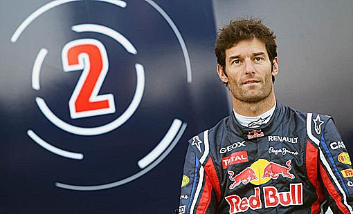 Red Bull車手Mark Webber-3