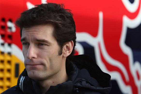 Red Bull車手Mark Webber-1