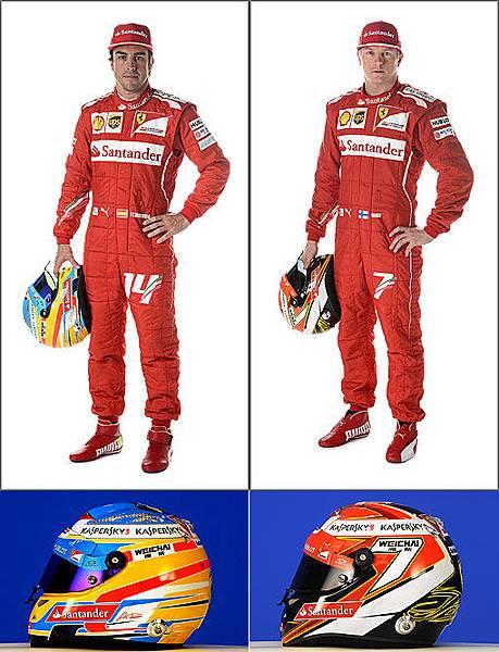 Ferrari車隊的車手雙雄