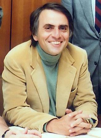 已故美國物理大師-卡爾·薩根Carl Sagan