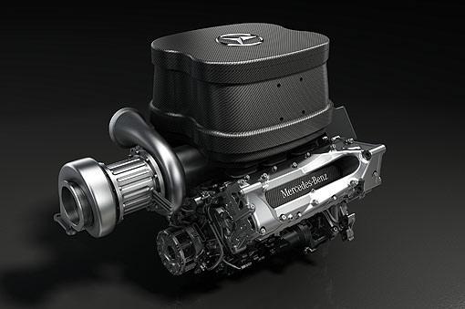 2014 F1 Merdedes賽車引擎