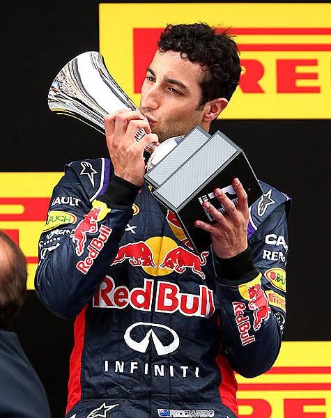 2014 F1西班牙站最佳車手-Daniel Ricciardo